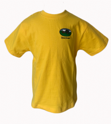 Downham P.E. T-Shirt - Yellow